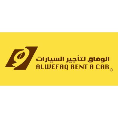 شعار شركة الوفاق لتآجير السيارات ,Logo , icon , SVG شعار شركة الوفاق لتآجير السيارات
