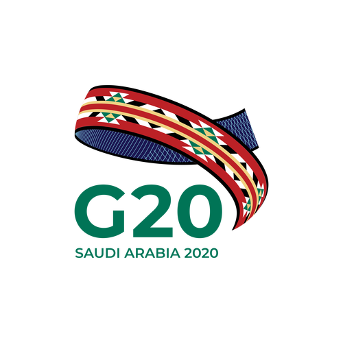 شعار مجموعة العشرين – السعودية ,Logo , icon , SVG شعار مجموعة العشرين – السعودية