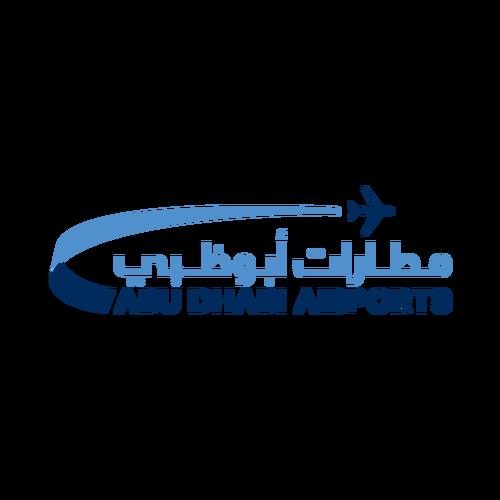 شعار مطارات أبوظبي ,Logo , icon , SVG شعار مطارات أبوظبي