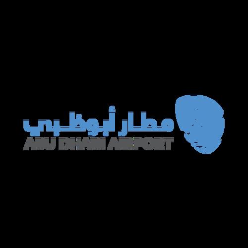 شعار مطار أبوظبي ,Logo , icon , SVG شعار مطار أبوظبي