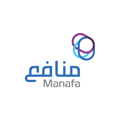 شعار منافع المالية ,Logo , icon , SVG شعار منافع المالية