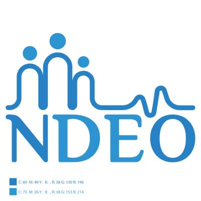 شعار منظمة نبض للتنمية والتطوير NDEO Logo ,Logo , icon , SVG شعار منظمة نبض للتنمية والتطوير NDEO Logo