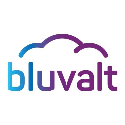 bluvalt ,Logo , icon , SVG bluvalt