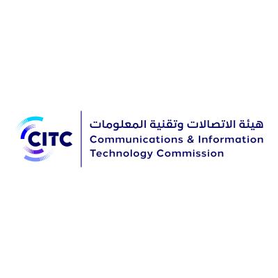 شعار هيئة الاتصالات وتقنية المعلومات CITC ,Logo , icon , SVG شعار هيئة الاتصالات وتقنية المعلومات CITC