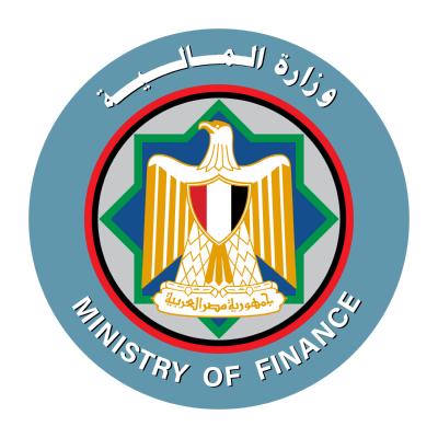 شعار وزارة المالية , مصر ,Logo , icon , SVG شعار وزارة المالية , مصر