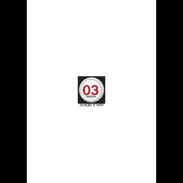 03 Solutions Criação e Web Logo ,Logo , icon , SVG 03 Solutions Criação e Web Logo