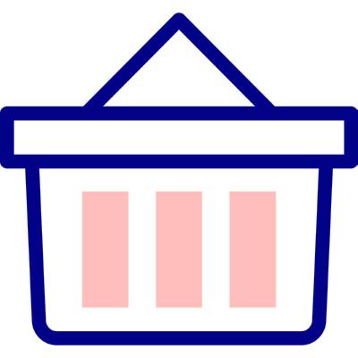 044 shopping basket ,Logo , icon , SVG 044 shopping basket