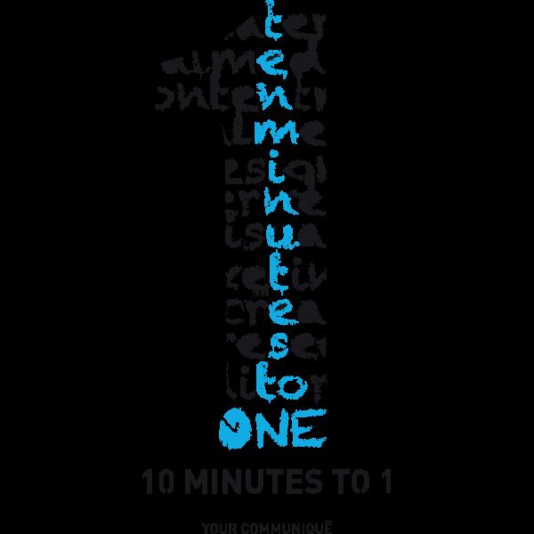 10 Minutes To 1 Logo ,Logo , icon , SVG 10 Minutes To 1 Logo