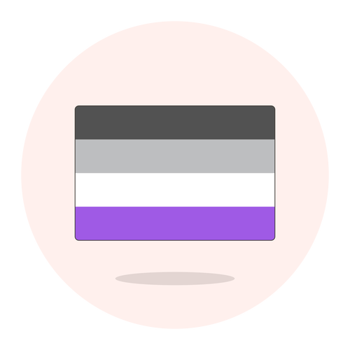 123 _flag asexual ,Logo , icon , SVG 123 _flag asexual