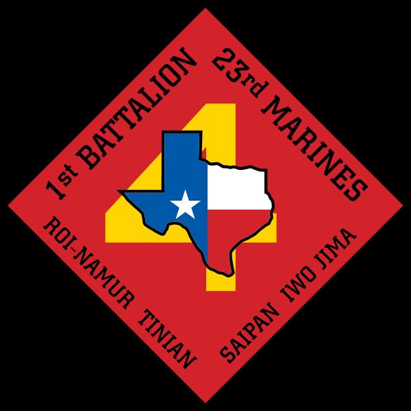 1st Battalion 23rd Marine Regiment USMCR Logo ,Logo , icon , SVG 1st Battalion 23rd Marine Regiment USMCR Logo