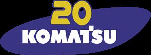 20 Komatsu Logo ,Logo , icon , SVG 20 Komatsu Logo