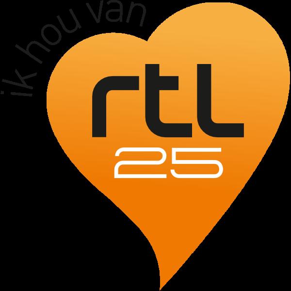 25 Jaar RTL Logo ,Logo , icon , SVG 25 Jaar RTL Logo