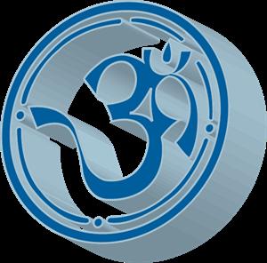 3D Aum Logo ,Logo , icon , SVG 3D Aum Logo
