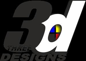 3D Designs Logo ,Logo , icon , SVG 3D Designs Logo