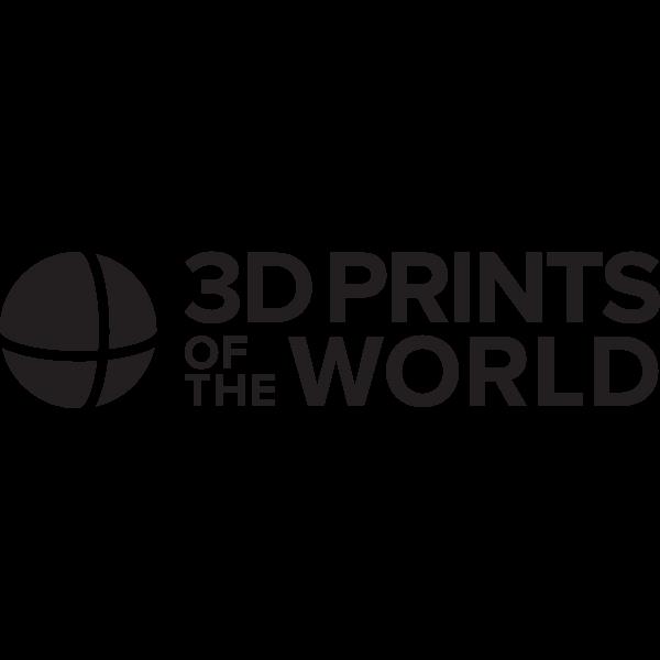 3D Prints of the World Logo ,Logo , icon , SVG 3D Prints of the World Logo