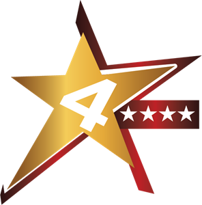 4 star Logo ,Logo , icon , SVG 4 star Logo