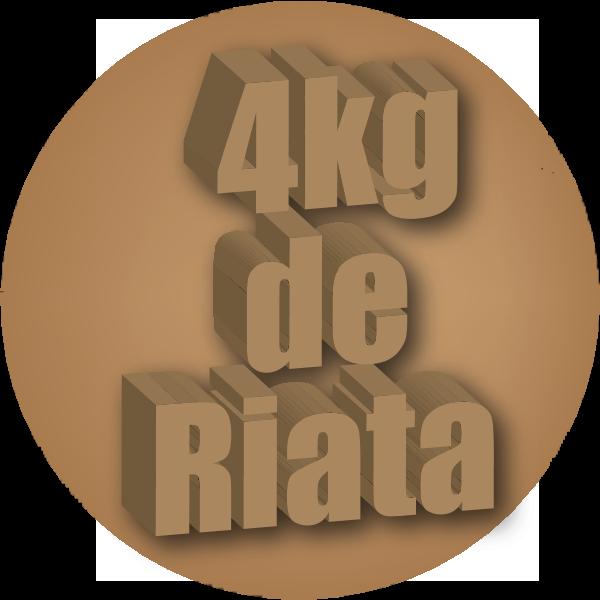 4kg de Riata Logo ,Logo , icon , SVG 4kg de Riata Logo