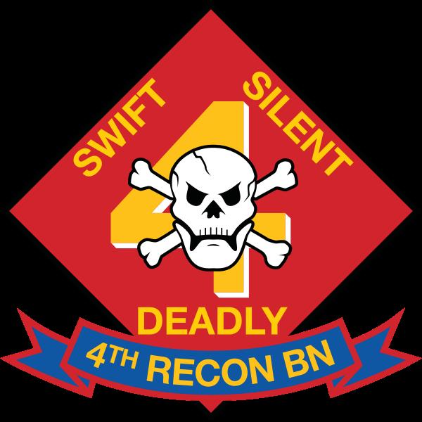 4th Recon Battalion USMC Logo ,Logo , icon , SVG 4th Recon Battalion USMC Logo