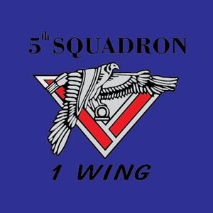 5th Squadron 1 Wing Logo ,Logo , icon , SVG 5th Squadron 1 Wing Logo