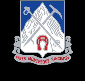 87th Mountain Infantry Regiment Logo ,Logo , icon , SVG 87th Mountain Infantry Regiment Logo