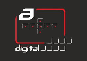 a digital Logo ,Logo , icon , SVG a digital Logo