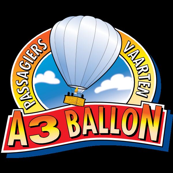 A3 Ballon – Passagiers Vaarten Logo ,Logo , icon , SVG A3 Ballon – Passagiers Vaarten Logo