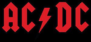 AC DC red Logo ,Logo , icon , SVG AC DC red Logo