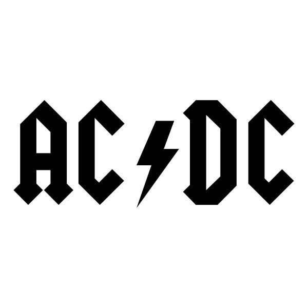 AC DC ,Logo , icon , SVG AC DC