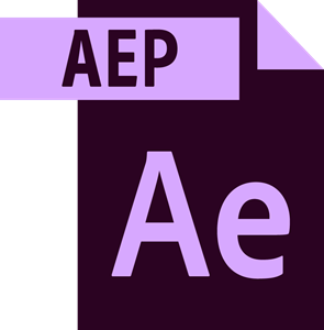 Adobe After Effects File Logo ,Logo , icon , SVG Adobe After Effects File Logo