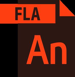 Adobe Animate File Logo ,Logo , icon , SVG Adobe Animate File Logo