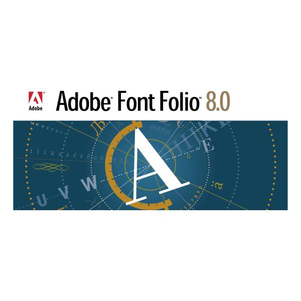Adobe Font Folio ,Logo , icon , SVG Adobe Font Folio