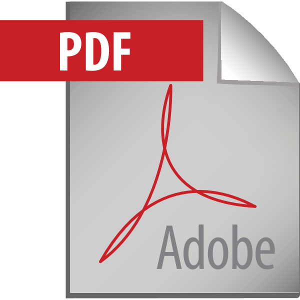 Adobe PDF Icon Logo ,Logo , icon , SVG Adobe PDF Icon Logo
