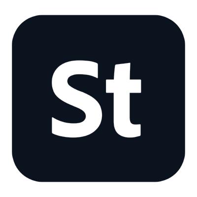adobe stock icon 2020 ,Logo , icon , SVG adobe stock icon 2020