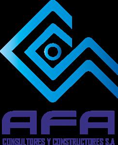 AFA CONSULTORES Y CONSTRUCTORES Logo ,Logo , icon , SVG AFA CONSULTORES Y CONSTRUCTORES Logo