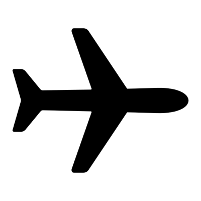 airplane ,Logo , icon , SVG airplane