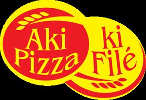 Aki Pizza ki Filé Logo ,Logo , icon , SVG Aki Pizza ki Filé Logo
