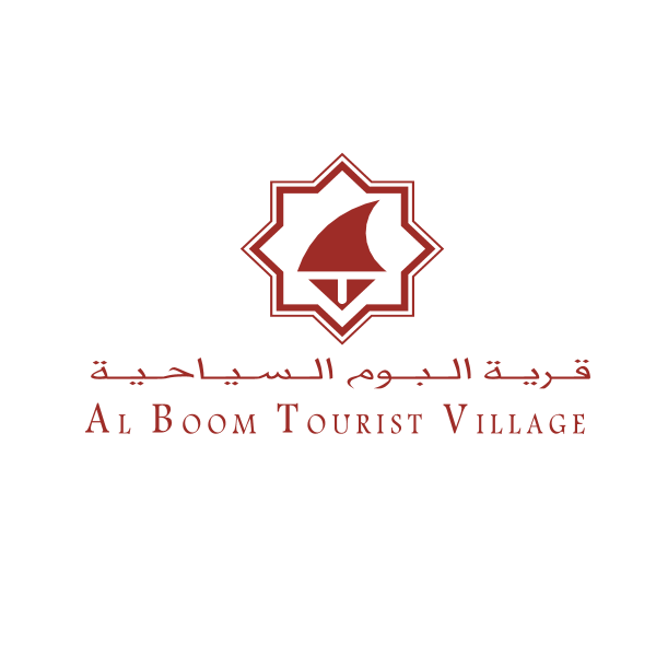 شعار قريةالبوم للسياحية ,Logo , icon , SVG شعار قريةالبوم للسياحية