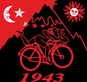 Albert Hoffman – Bike 1943 Logo ,Logo , icon , SVG Albert Hoffman – Bike 1943 Logo