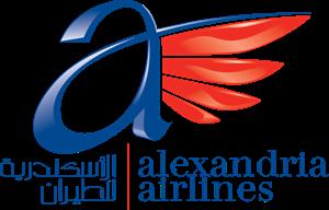 شعار الاسكندرية للطيران ,Logo , icon , SVG شعار الاسكندرية للطيران
