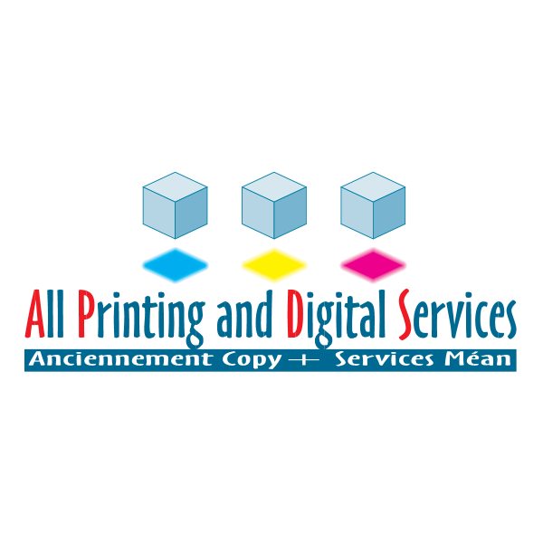 All Printing and Digital Services Logo ,Logo , icon , SVG All Printing and Digital Services Logo