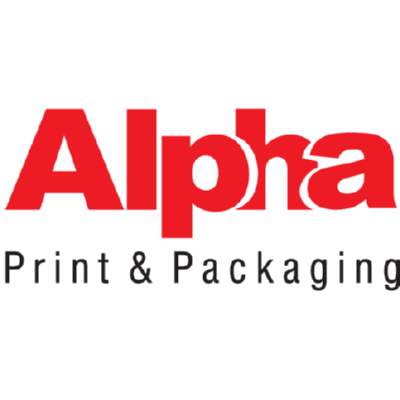 Alpha Print & Packaging Logo ,Logo , icon , SVG Alpha Print & Packaging Logo