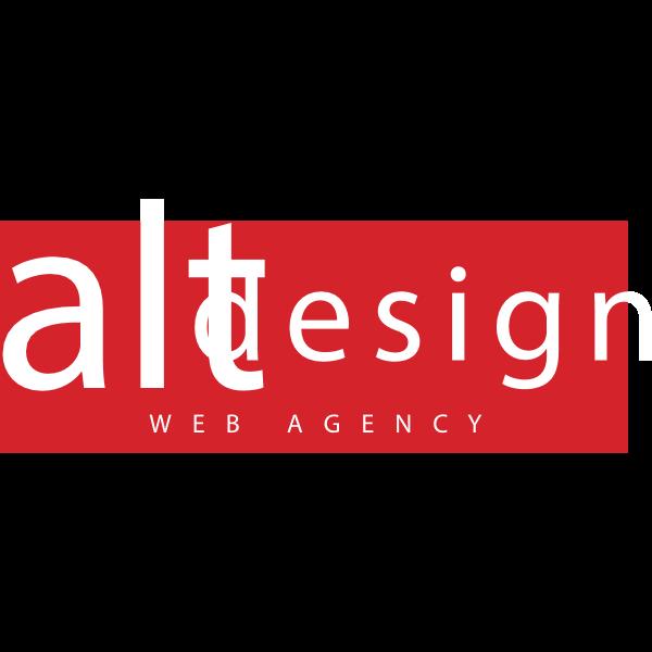 Alt Design Web Agency Logo ,Logo , icon , SVG Alt Design Web Agency Logo