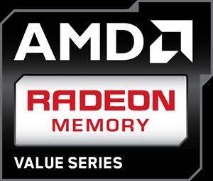 AMD Radeon Memory Value Series Logo ,Logo , icon , SVG AMD Radeon Memory Value Series Logo