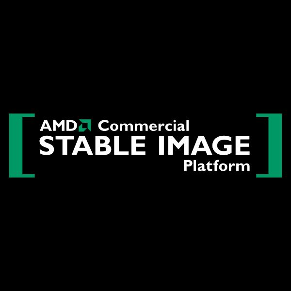 AMD Stable Image Logo ,Logo , icon , SVG AMD Stable Image Logo