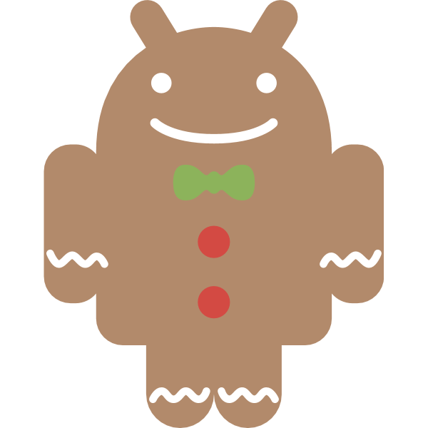 Android Gingerbread Logo ,Logo , icon , SVG Android Gingerbread Logo