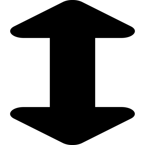 arrows alt v ,Logo , icon , SVG arrows alt v
