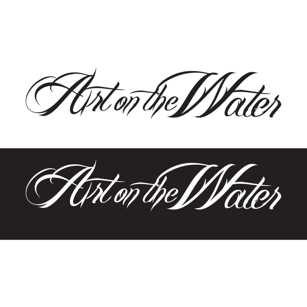 Art on the Water Logo ,Logo , icon , SVG Art on the Water Logo