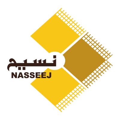 شعار نسيج nasseej ,Logo , icon , SVG شعار نسيج nasseej