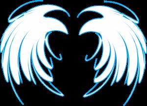 Asa gótica básica. Logo ,Logo , icon , SVG Asa gótica básica. Logo