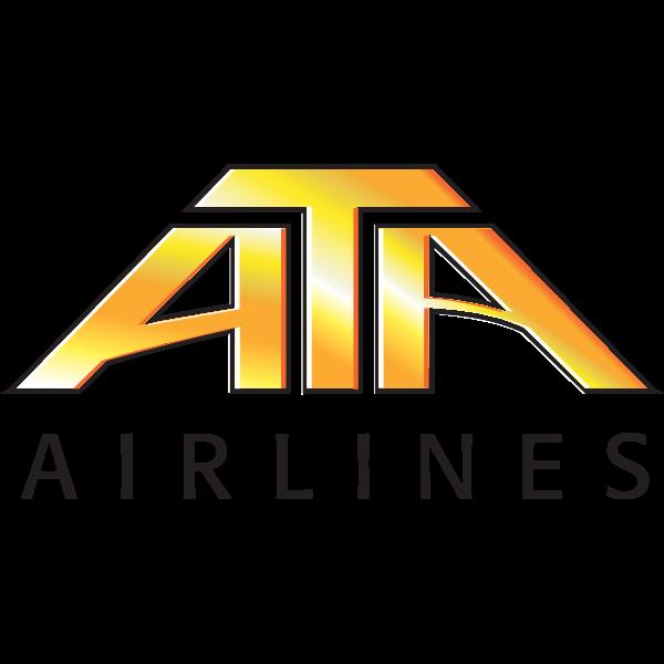 ATA Airlines Logo ,Logo , icon , SVG ATA Airlines Logo